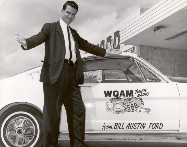 WQAM-Charlie Murdock,Tiger Mustang March 1965-650x