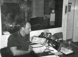 Lee Vogel in Talk Studio 1967