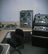 WQAM Small Production Studio March 25, 1966