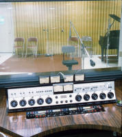 "Recording Studio Gates ""Executive"" Console Before Remodeling 11/19/1965"