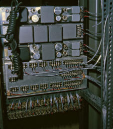 Rear view of tape switcher Jan. 1966