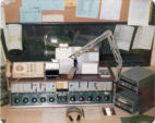 Highly modified Altec console in Air Studio 1975